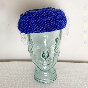 1960s vintage hat with net.